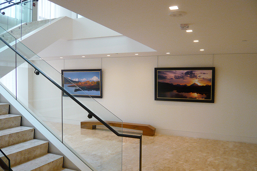 Gallery Picture Rail Wall Mounted Art Hanging System