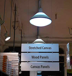 Sign and Panel Holders