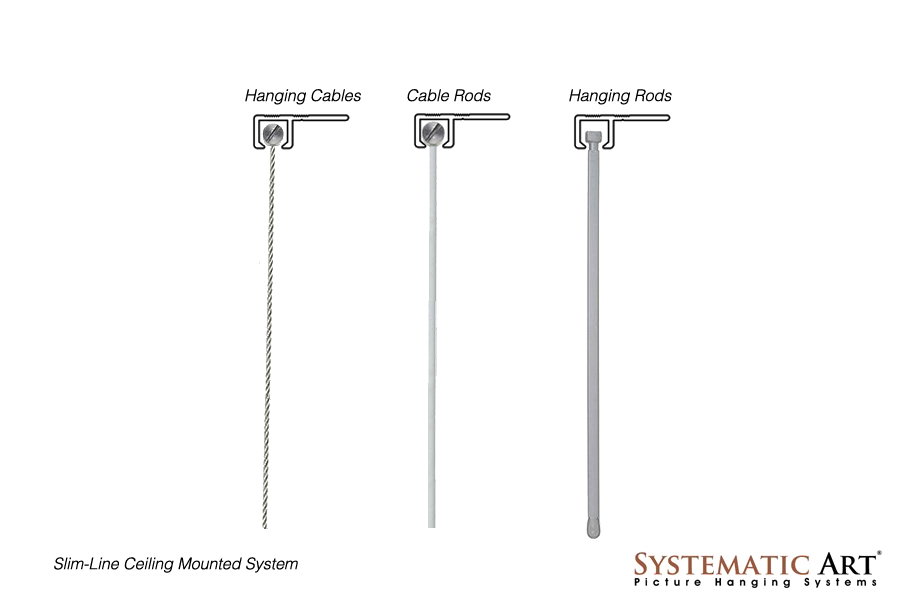 Art Hanging Systems Slim Line Picture Rail
